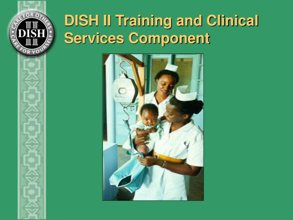 DISH II Training and Clinical Services Component