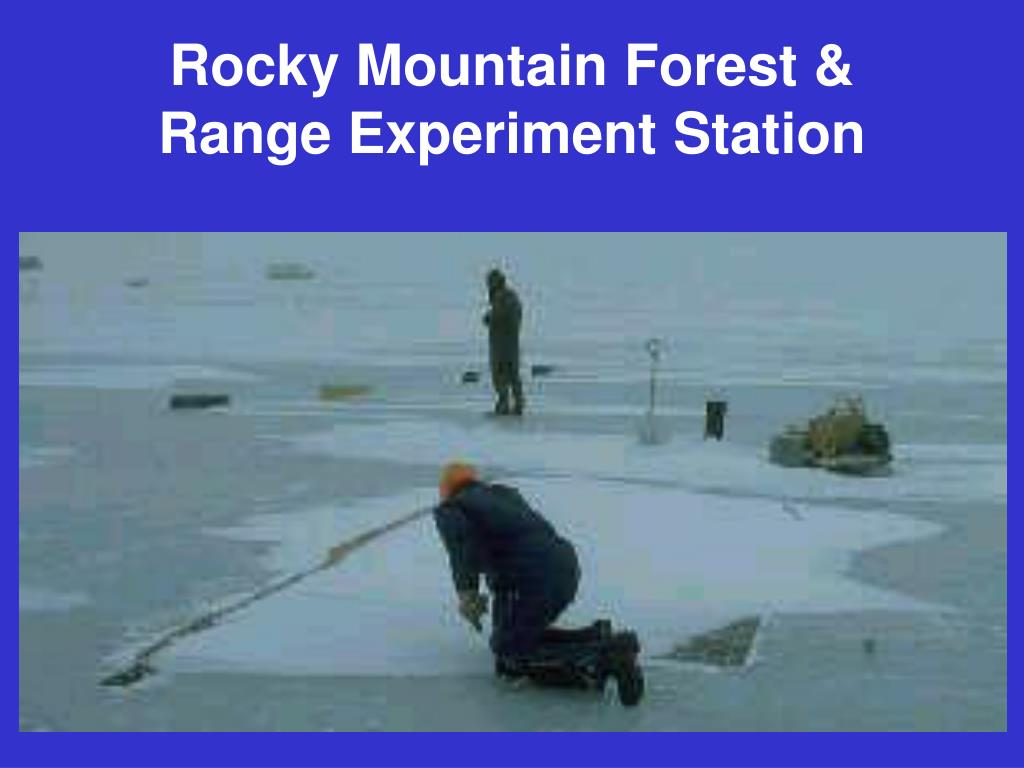Rocky Mountain Forest & Range Experiment Station