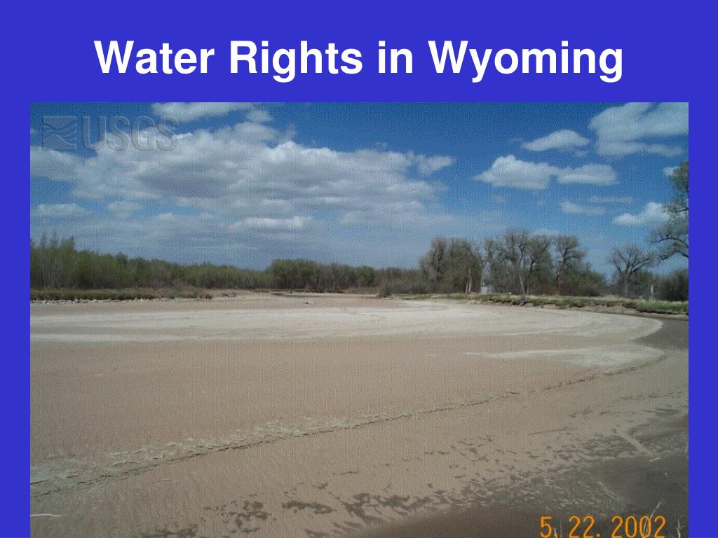Water Rights in Wyoming