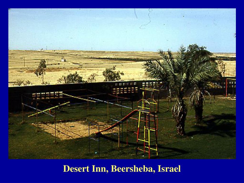 Desert Inn, Beersheba, Israel