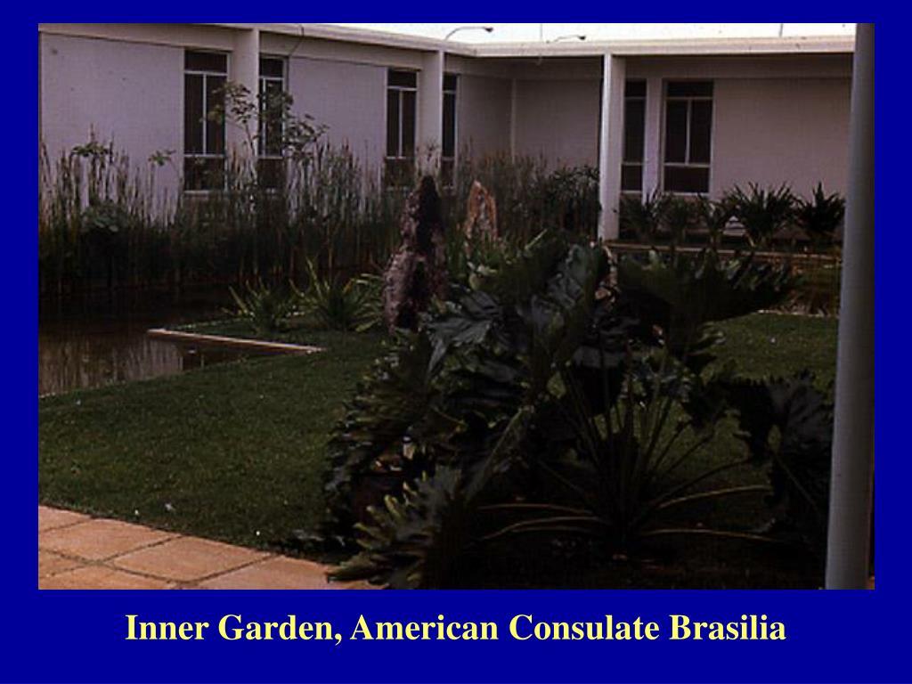 Inner Garden, American Consulate Brasilia