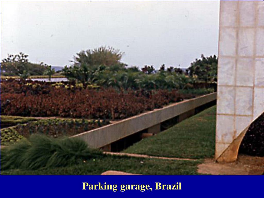 Parking garage, Brazil