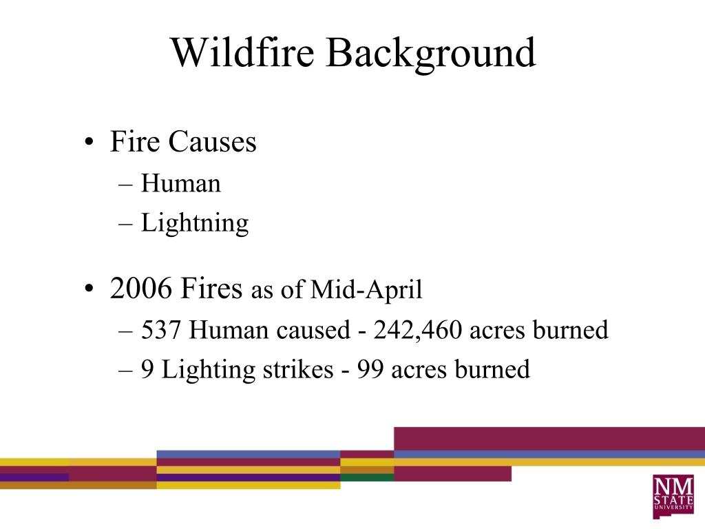 Wildfire Background