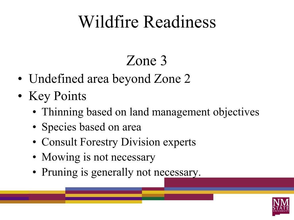 Wildfire Readiness