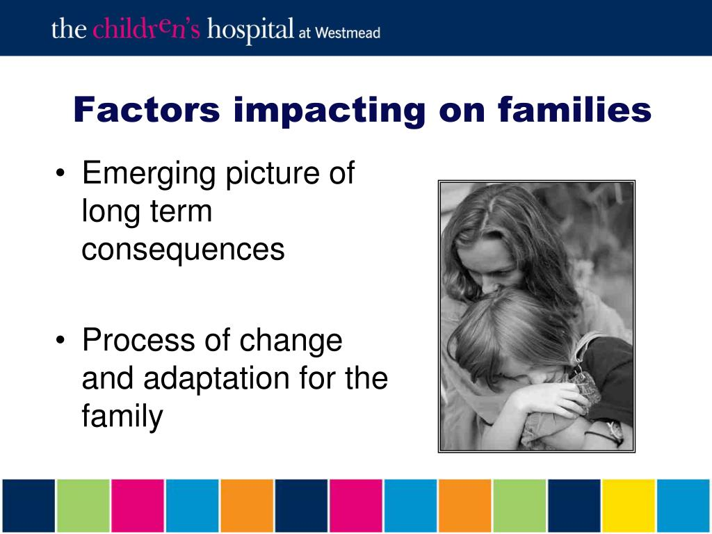 Factors impacting on families