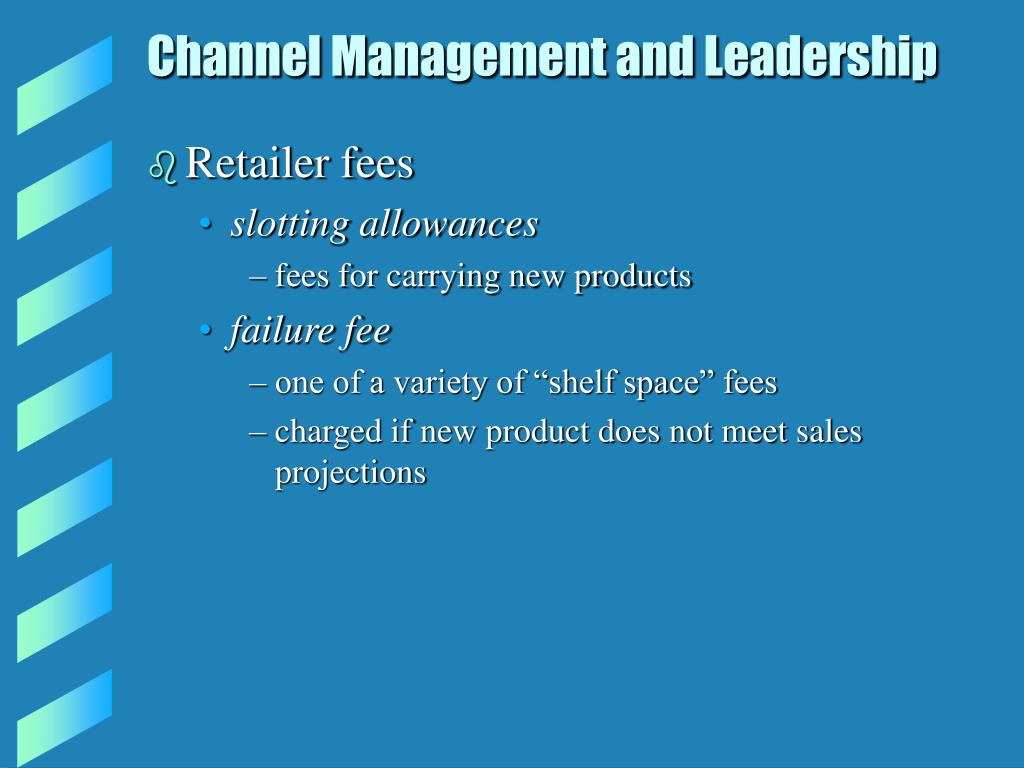 Channel Management and Leadership
