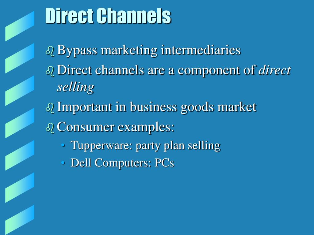 Direct Channels