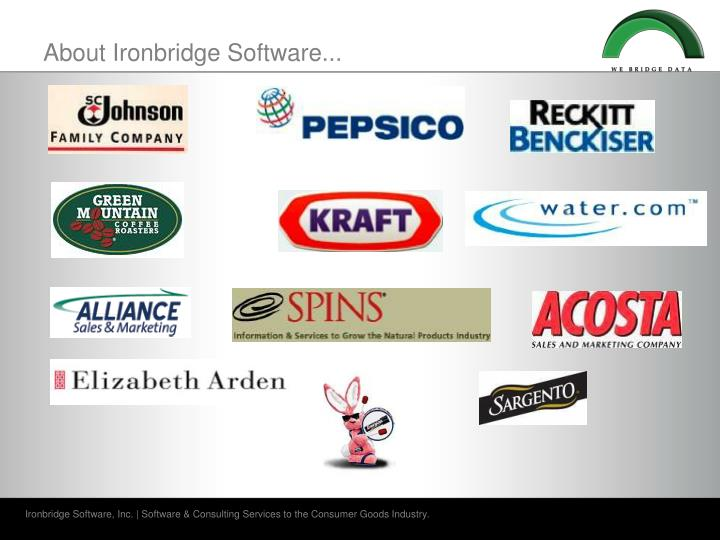 About ironbridge software3
