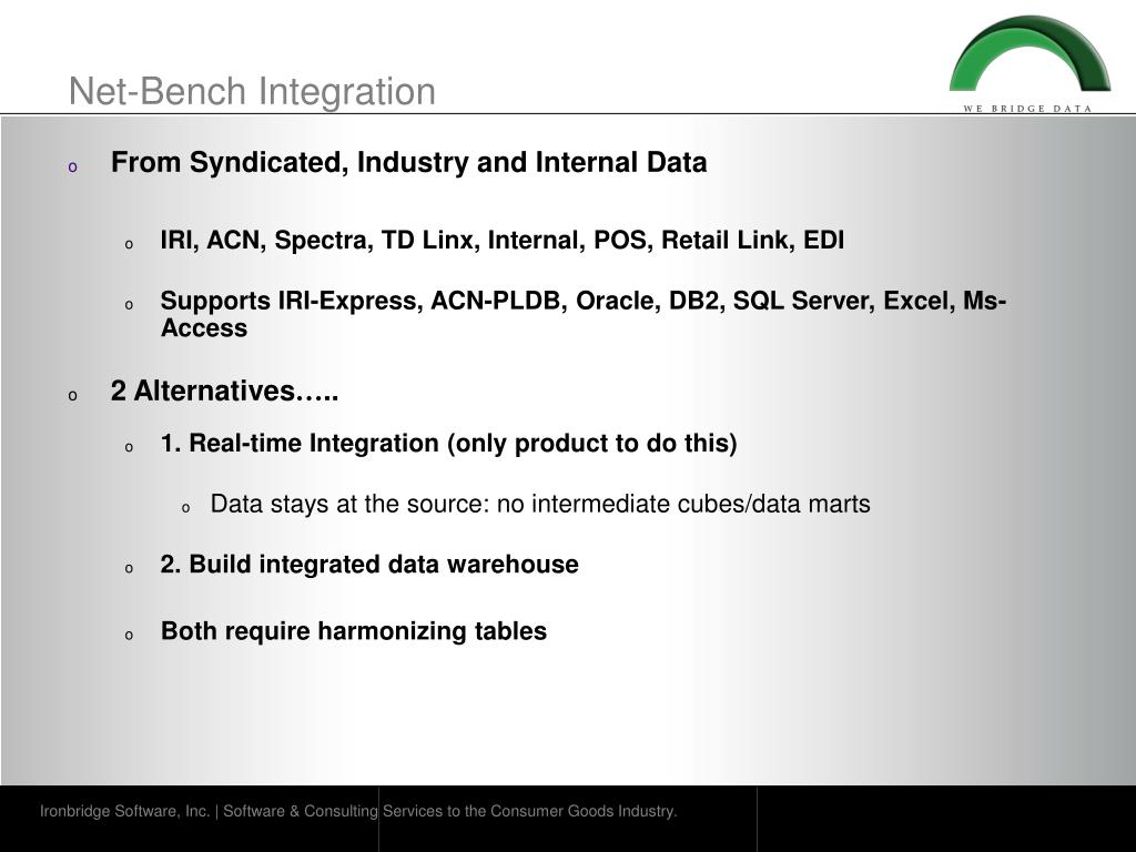 Net-Bench Integration