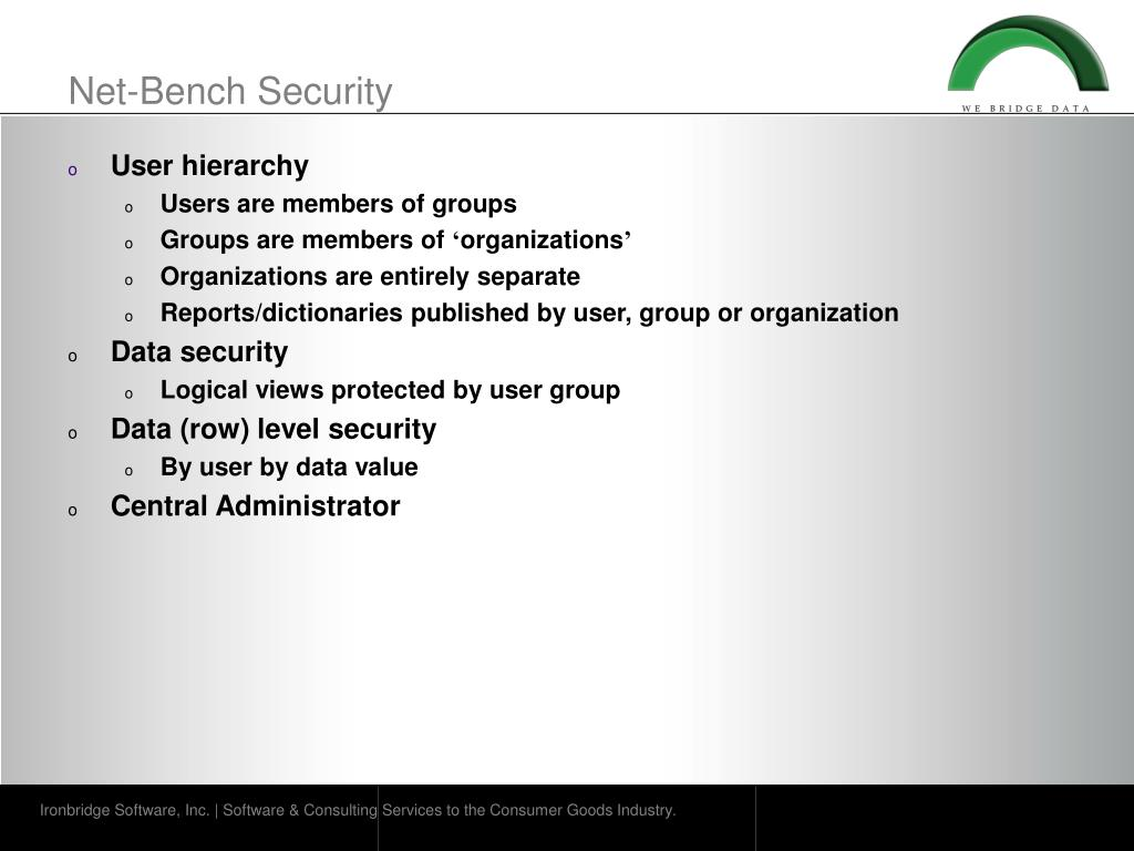 Net-Bench Security