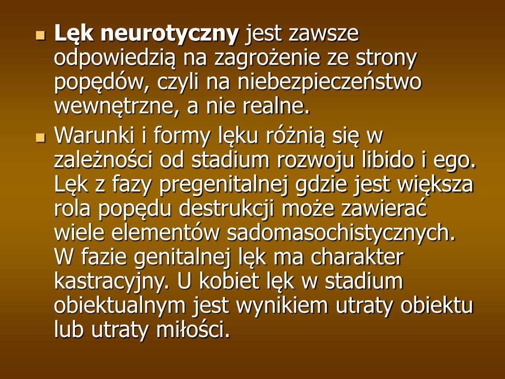 Lęk neurotyczny