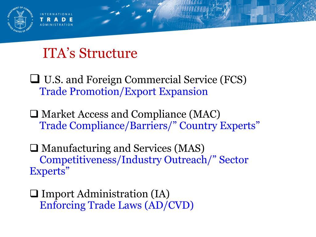 ITA's Structure