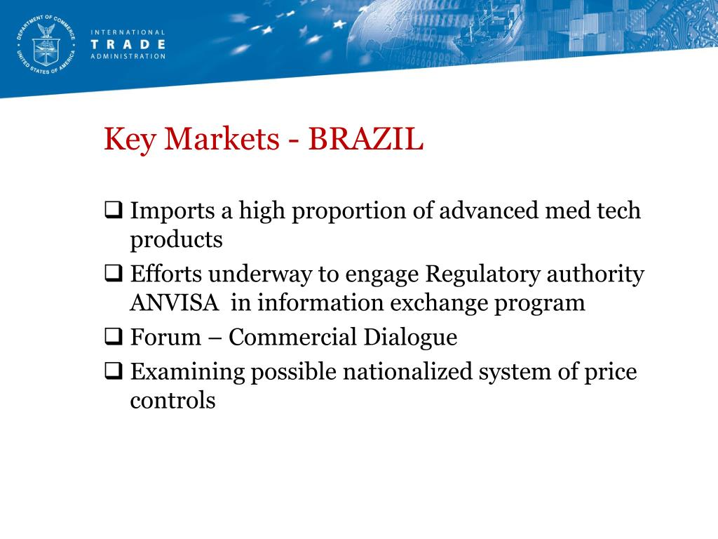 Key Markets - BRAZIL
