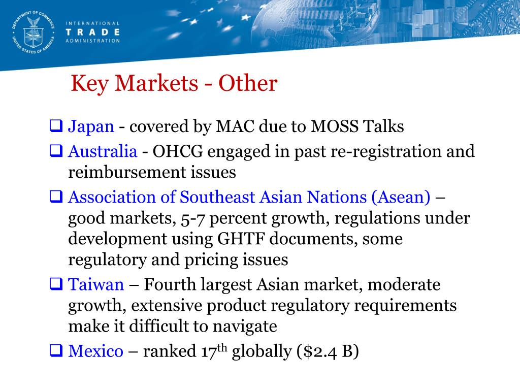 Key Markets - Other
