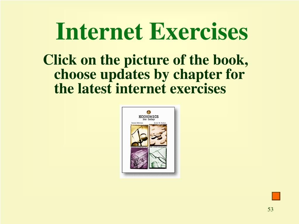 Internet Exercises