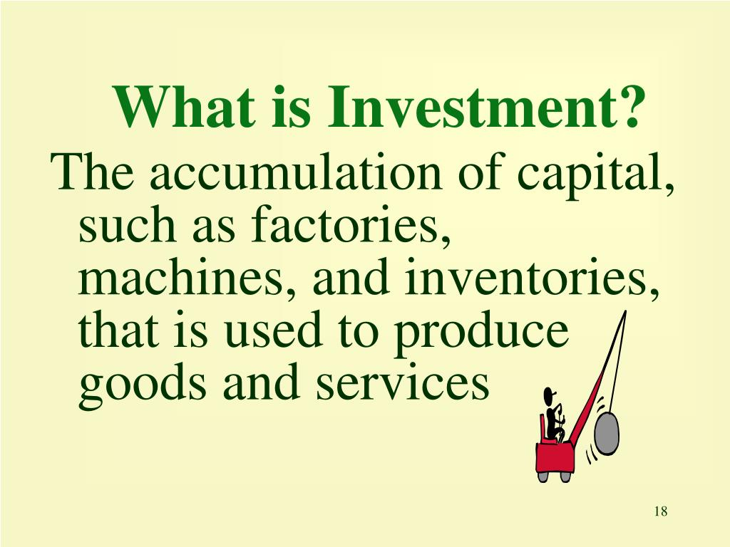 What is Investment?