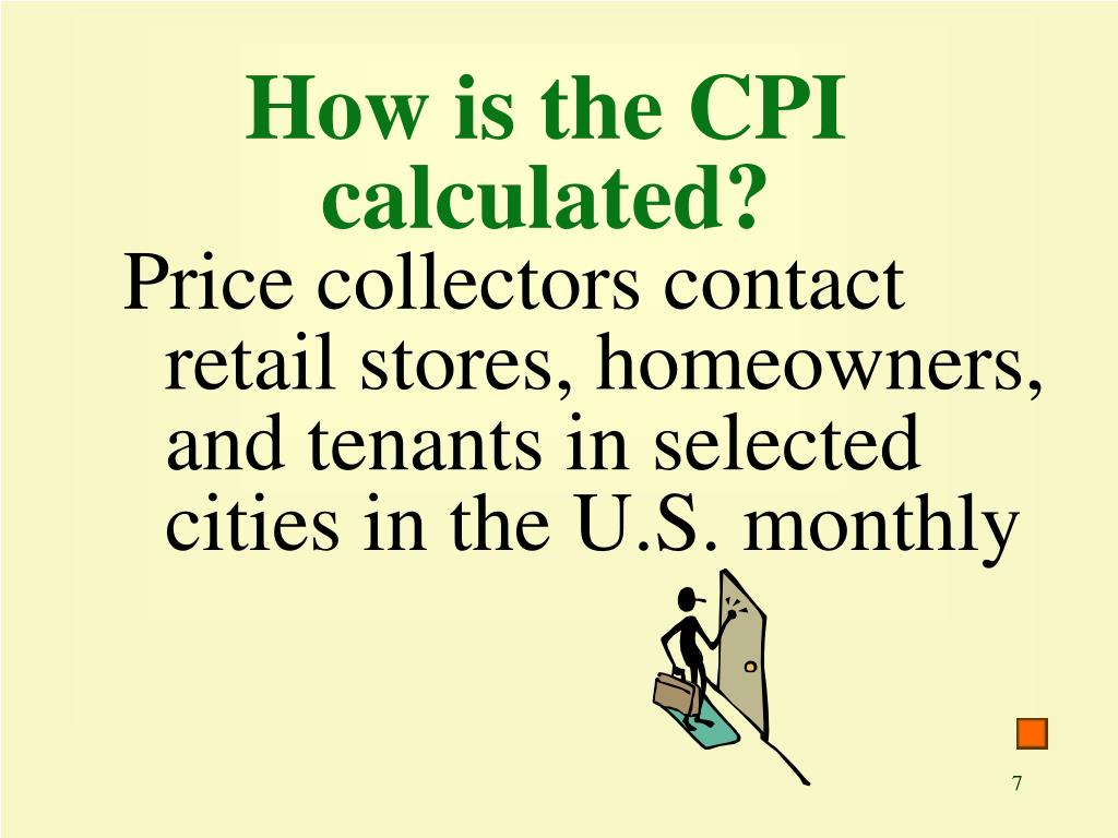 How is the CPI calculated?