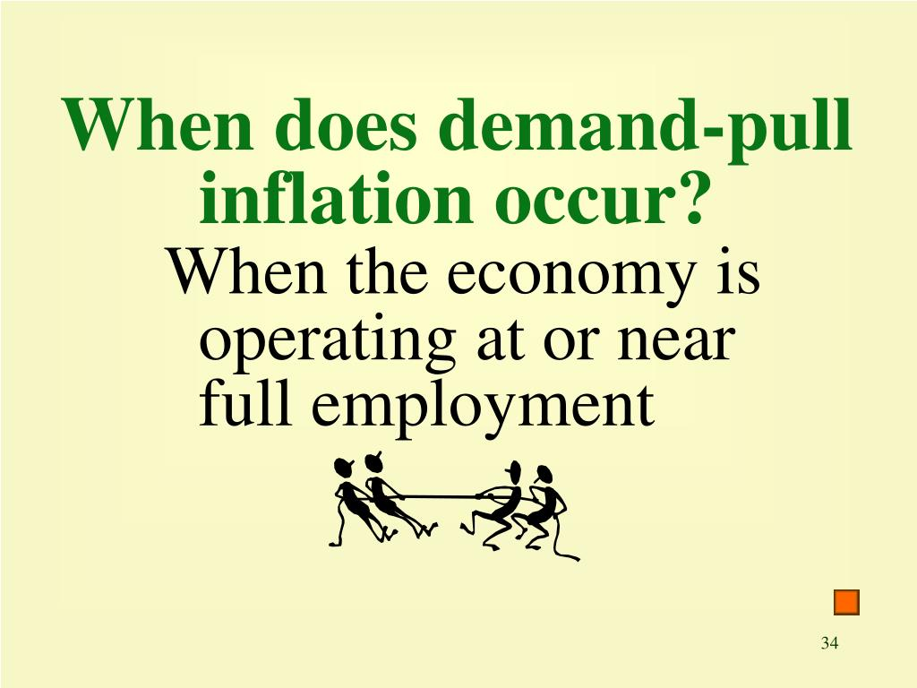 When does demand-pull inflation occur?