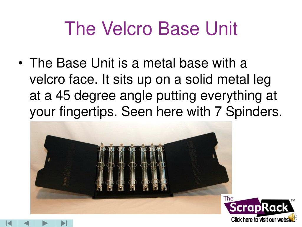 The Velcro Base Unit