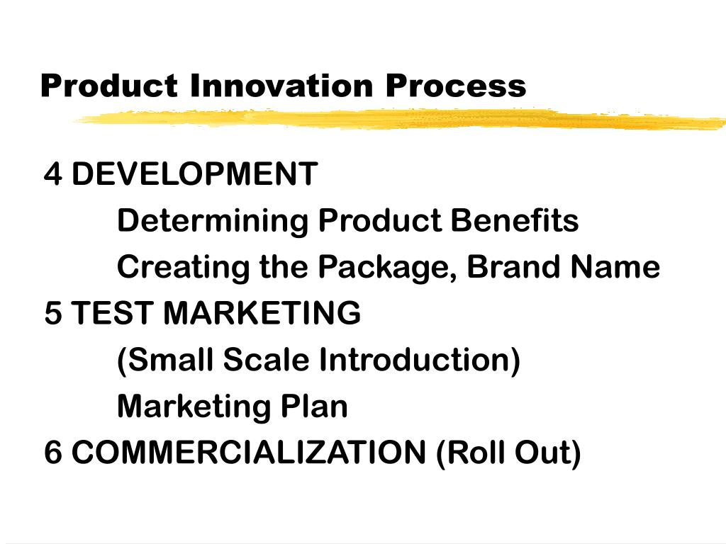 Product Innovation Process