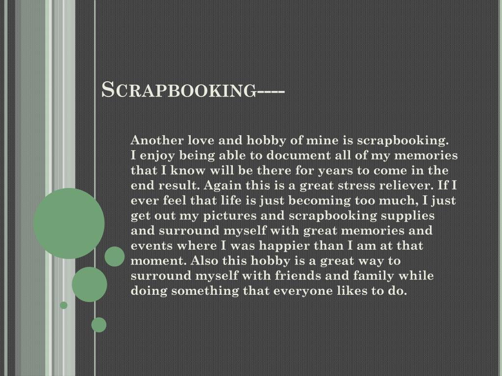 Scrapbooking----