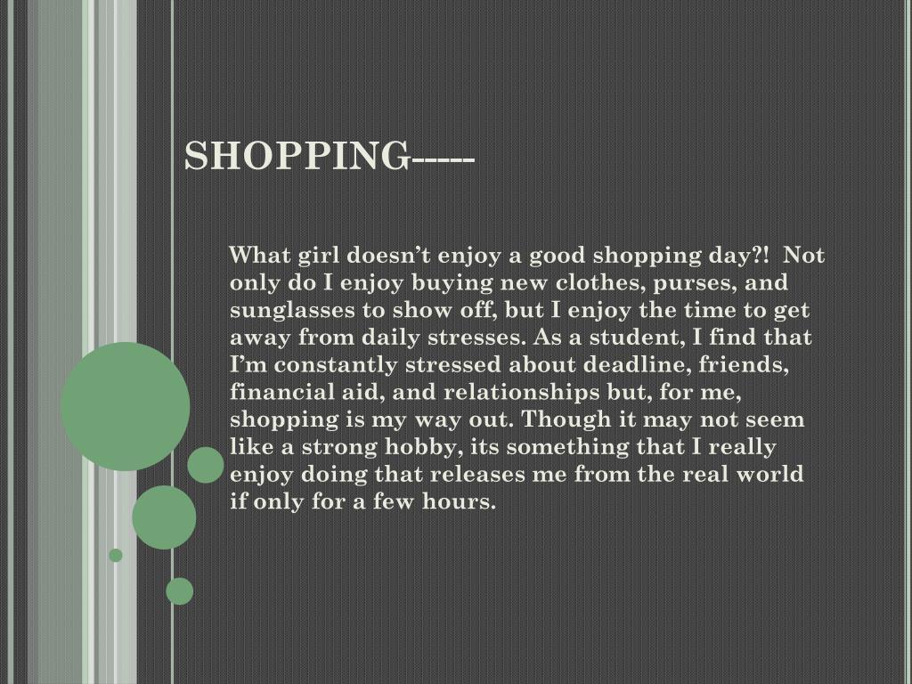 SHOPPING-----