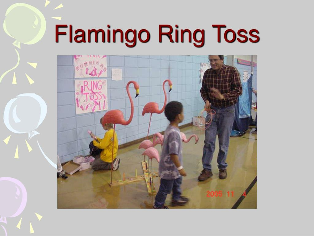 Flamingo Ring Toss