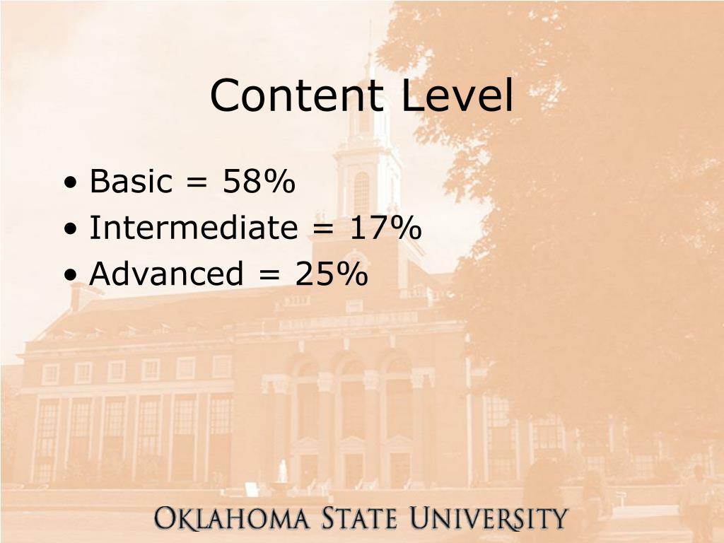 Content Level