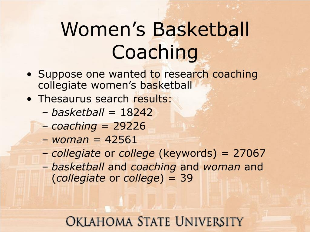 Women's Basketball Coaching