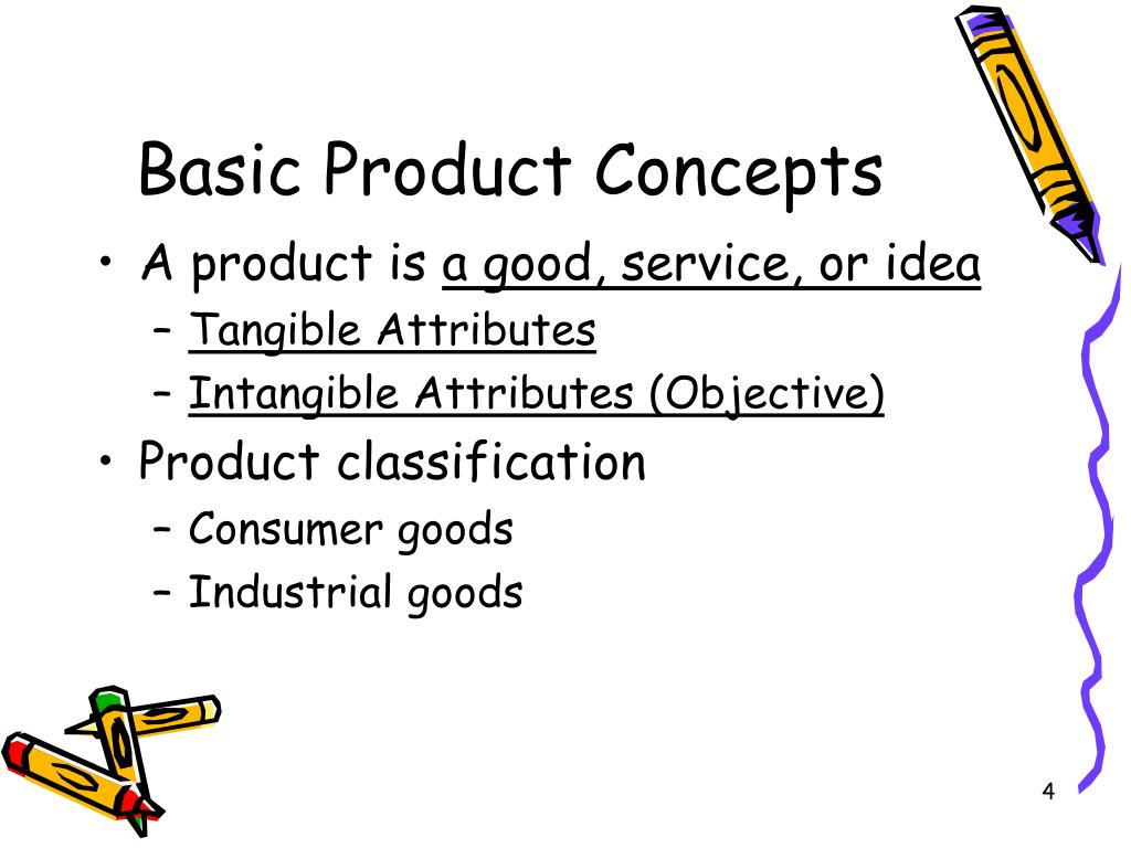 Basic Product Concepts