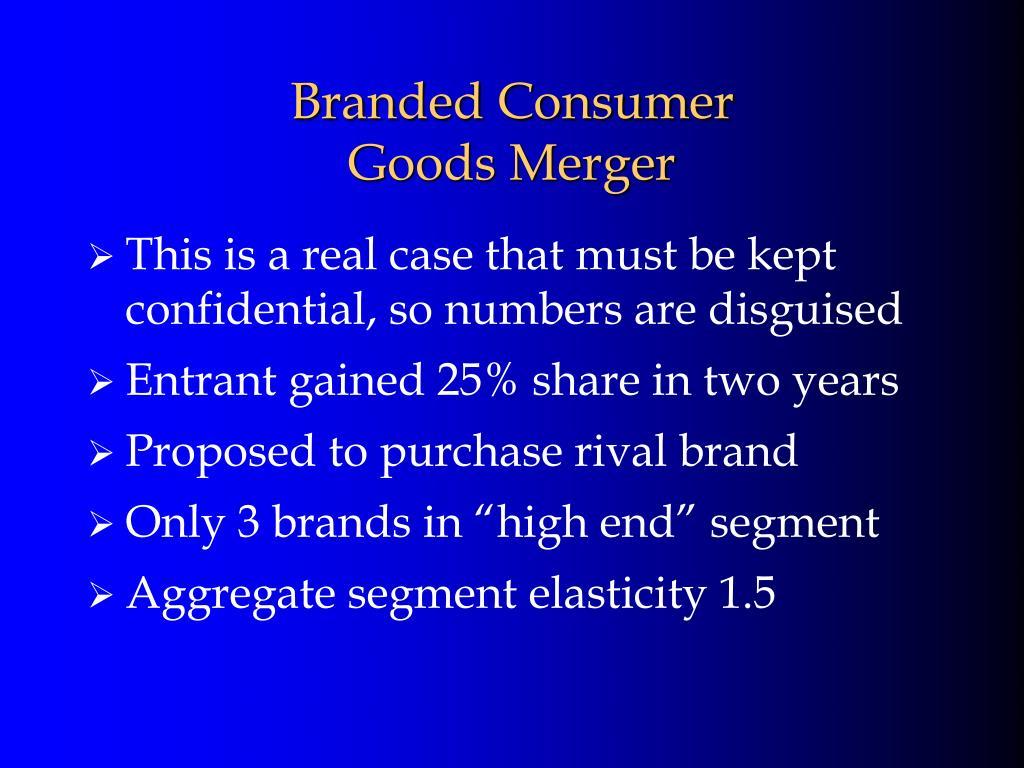 Branded Consumer