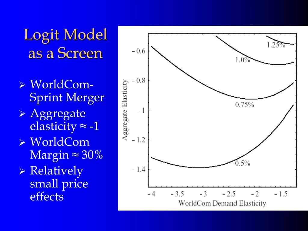 Logit Model as a Screen