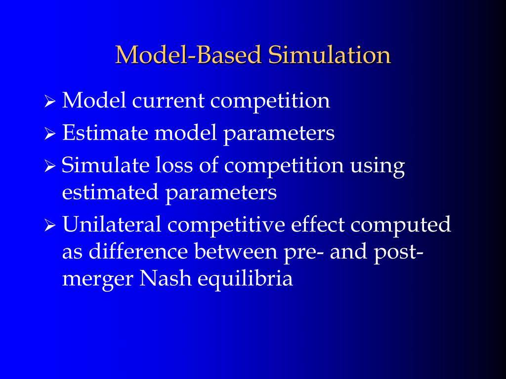 Model-Based Simulation