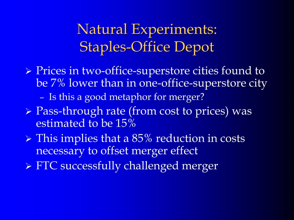 Natural Experiments:
