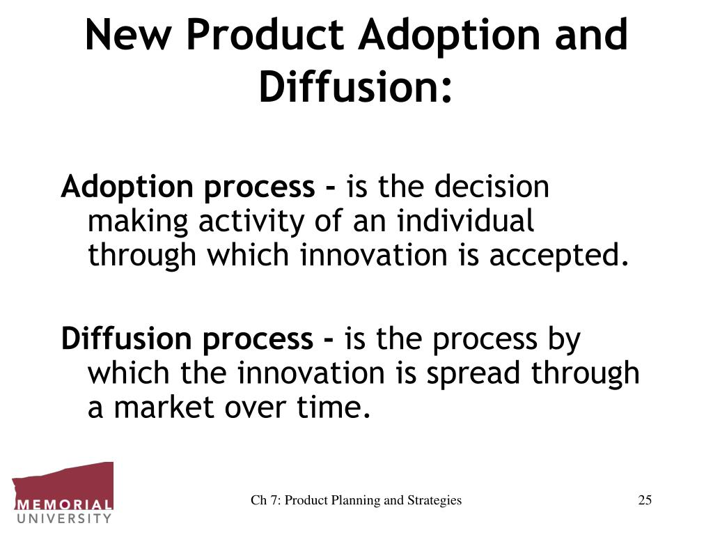 New Product Adoption and Diffusion: