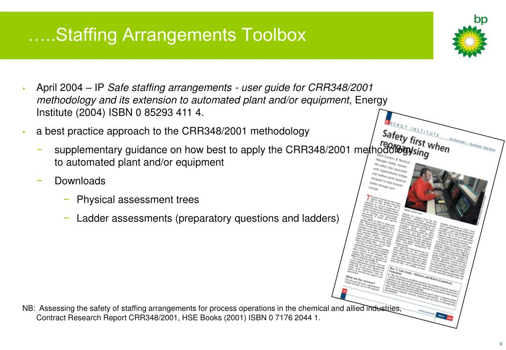 …..Staffing Arrangements Toolbox