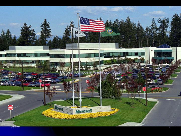 Microsoft Campus in Washington State