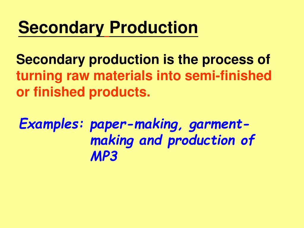 Secondary