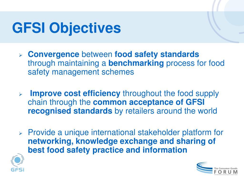 GFSI Objectives