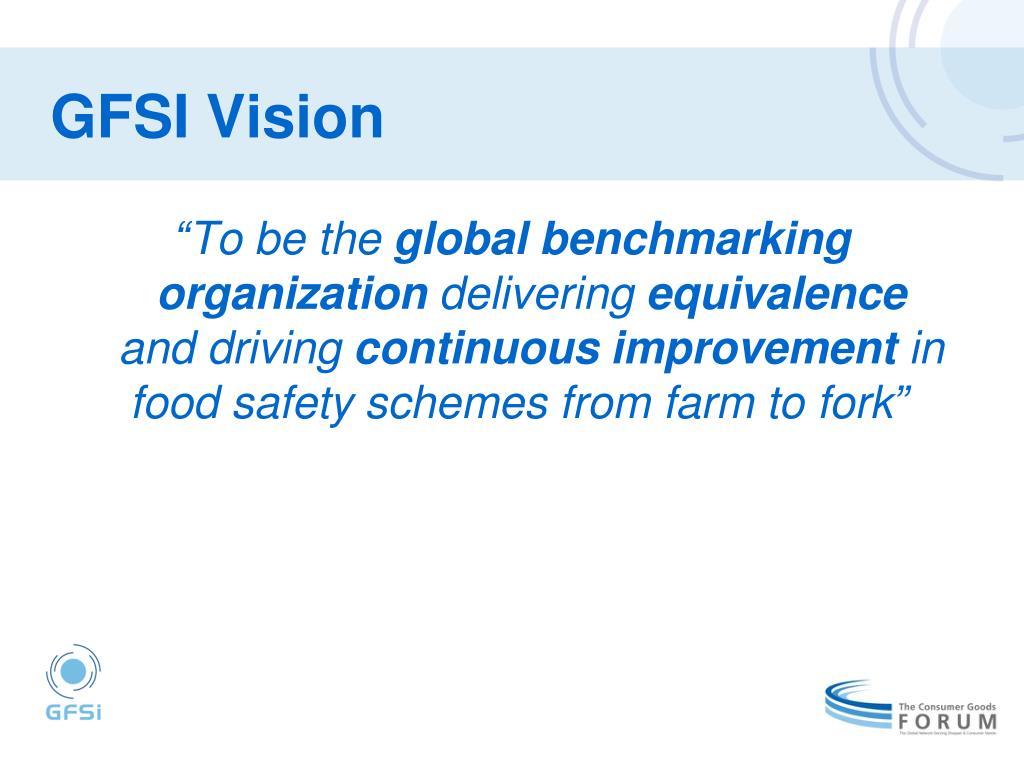 GFSI Vision