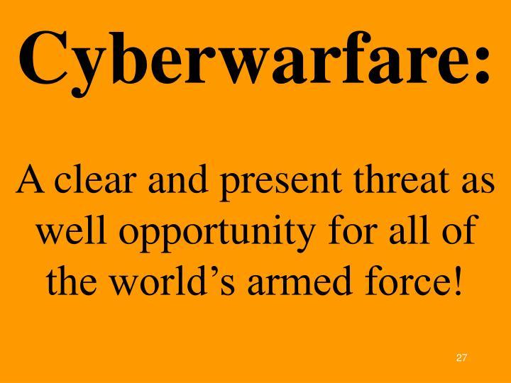Cyberwarfare: