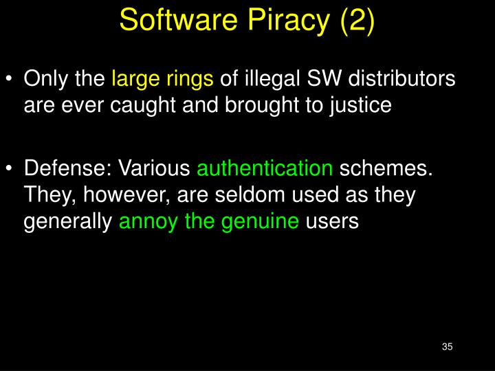Software Piracy (2)
