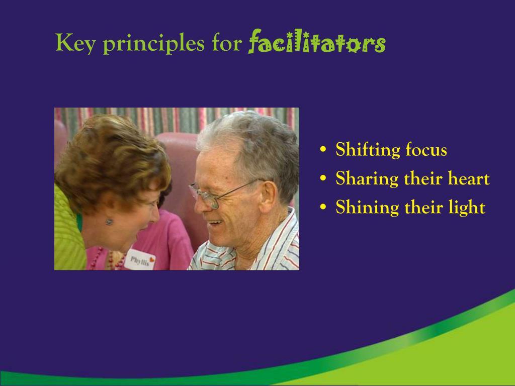 Key principles for