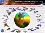 earth observation from space today