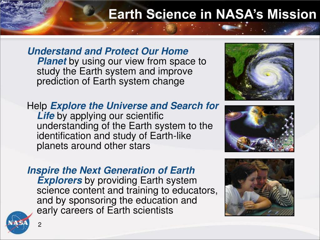 Earth Science in NASA's Mission