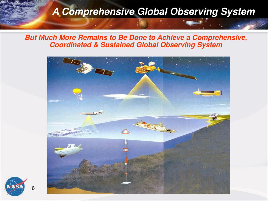 But Much More Remains to Be Done to Achieve a Comprehensive, Coordinated & Sustained Global Observing System