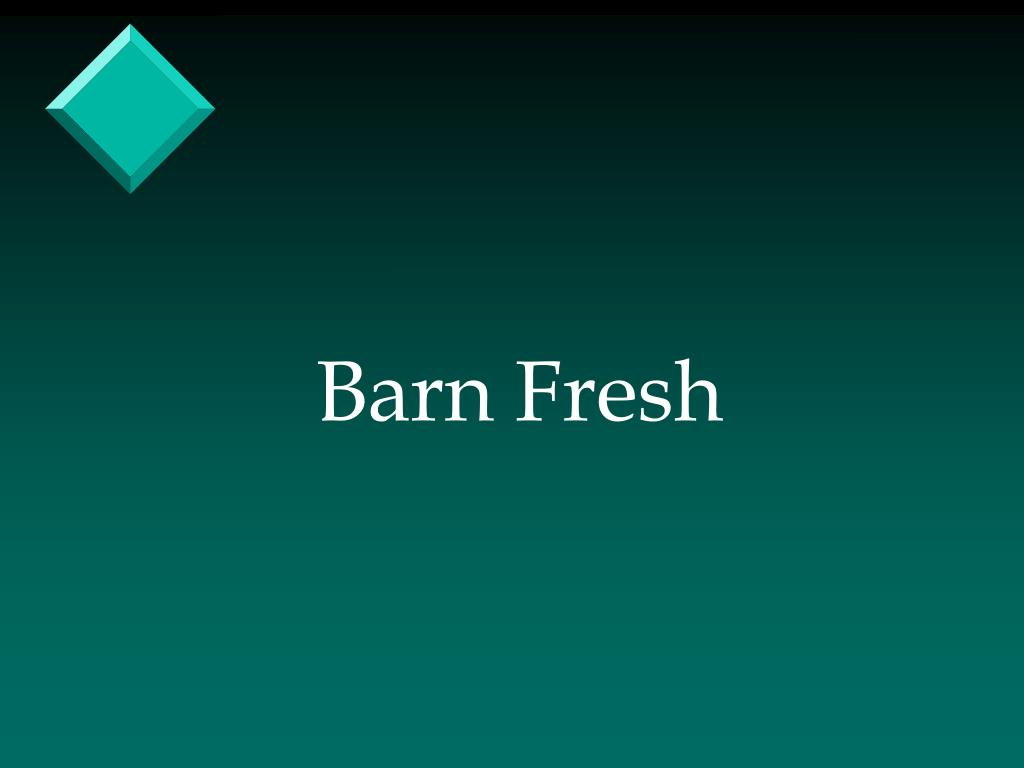 Barn Fresh