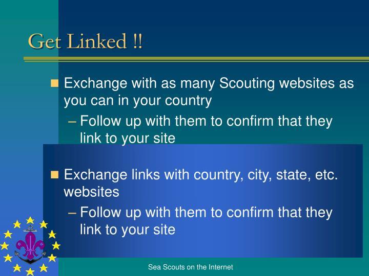 Get Linked !!
