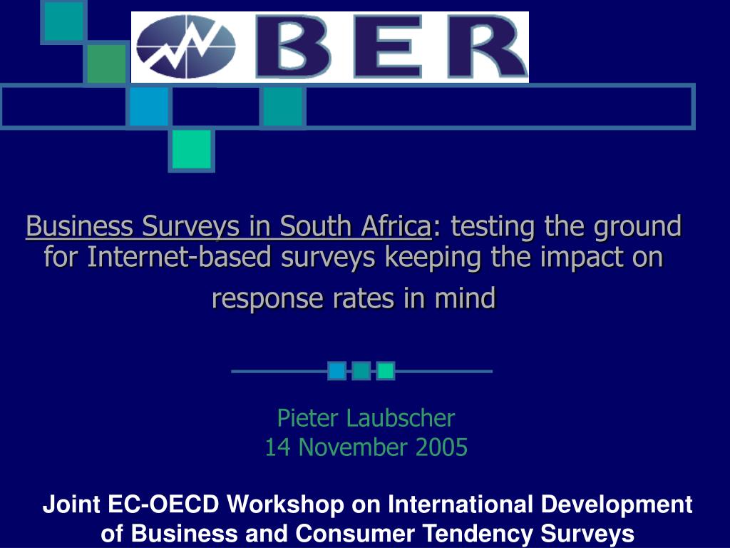 Business Surveys in South Africa