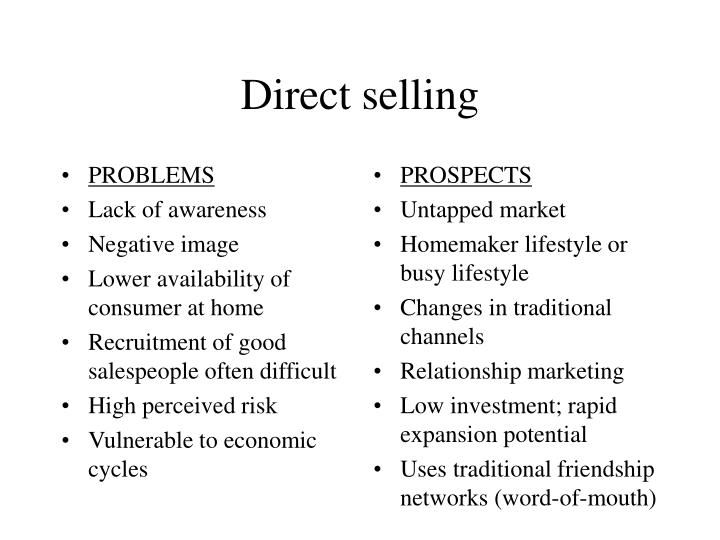 Direct selling2